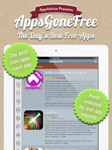 Apps gone free!