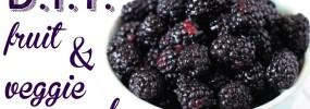 Simple DIY fruit and veggie wash recipe!!