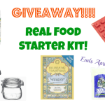 Real Food Starter Kit giveaway! Be sure to enter!
