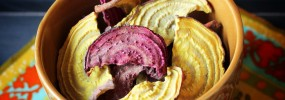 How to dehydrate beets and make your own beet chips!