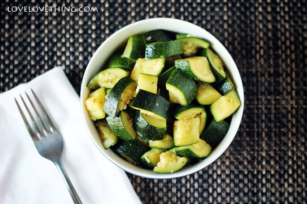 Whoever said healthy food had to be difficult? This zucchini is simple and full of flavor.