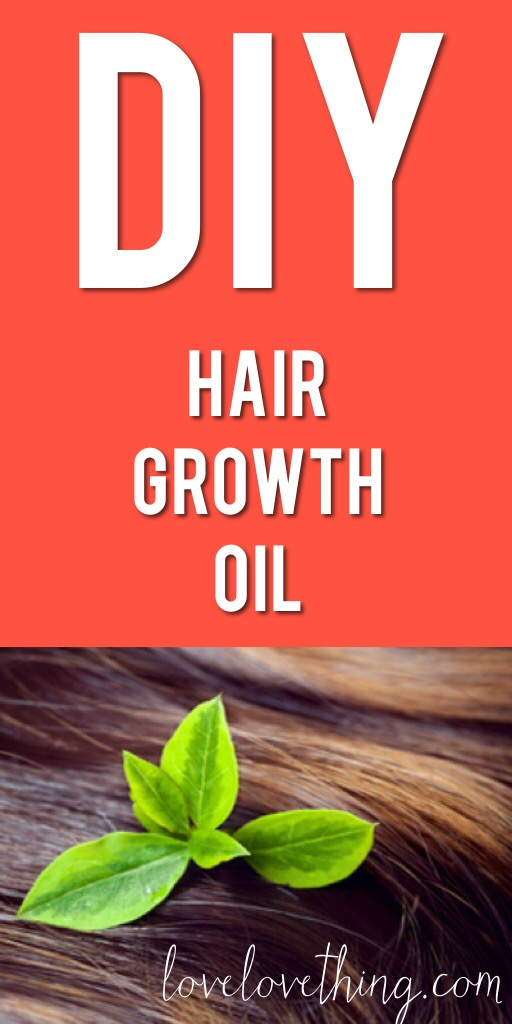 DIY Hair Growth Oil