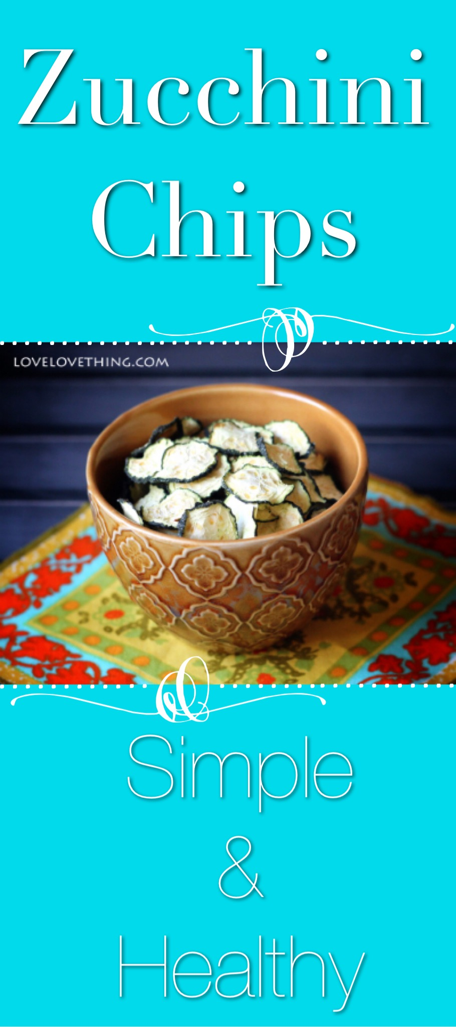 Dehydrated zucchini chips are so simple and healthy, and you can completely customize the flavor to suit your tastes.