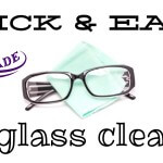 The easiest thing you can make - your own eyeglass cleaner!