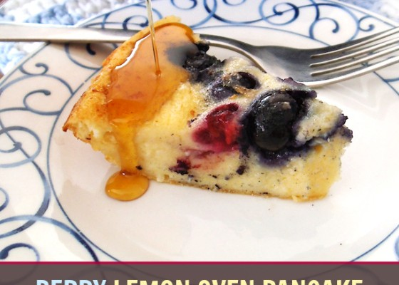 Berry Lemon Oven Pancakes, and more!